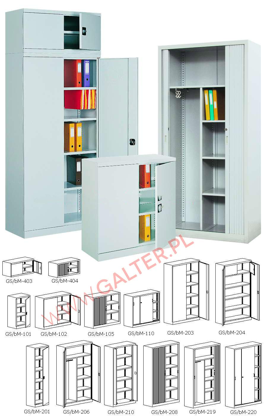 szafy aktowe metalowe