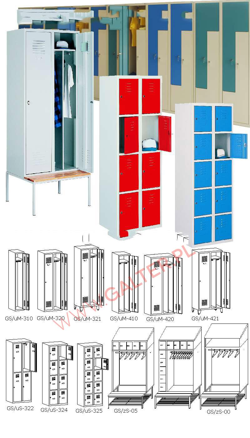 szafy socjalne